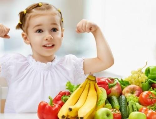 Bambini: l'alimentazione come prevenzione dei malanni invernali